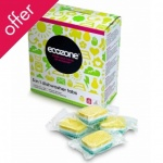 Ecozone Dishwasher 5 in 1 tablets - 25 tabs