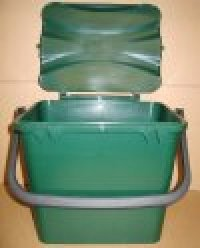 7 Litre Solid Kitchen Waste Caddy