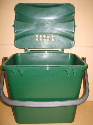 7 Litre Oudour Free  Waste Caddy